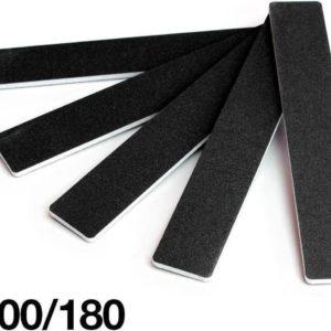 10 x Brede Studio nagelvijlen - 10 stuks brede studio vijlen - 10 x nagelvijl extra breed - 10 x nagel vijl extra brede