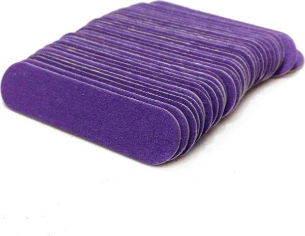 100 Stuks Nagelvijl 6cm - Wegwerp - Manicure - Pedicure - Reizen