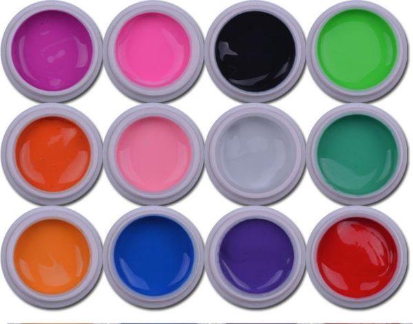 12-Delige Gel Nagellak / Gellak / Gel Polish - Gelnagels Nail Art Set