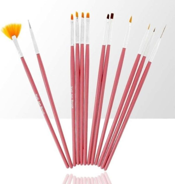 12 Delige nail art penselen set, nailart penselen voor nagels
