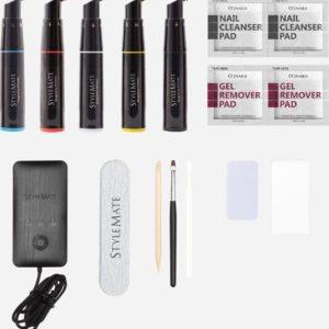 120 kleuren met de 5 Gellak Color Mixing Pens! - Gellak Starterspakket