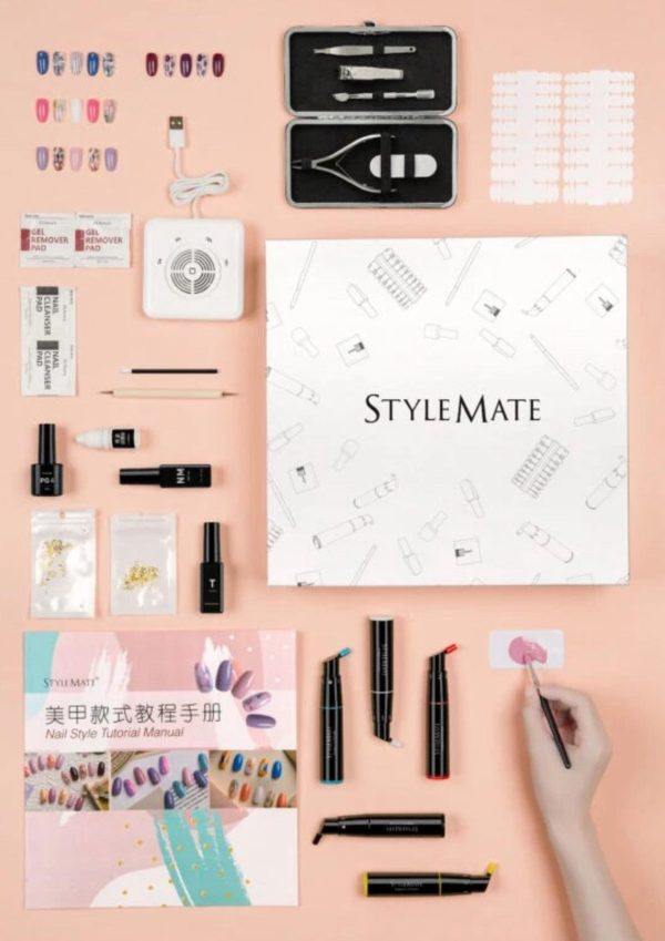 120 kleuren met de 5 Gellak Color Mixing Pens! - Gellak Starterspakket - PRINTER SET WITH NAIL ART