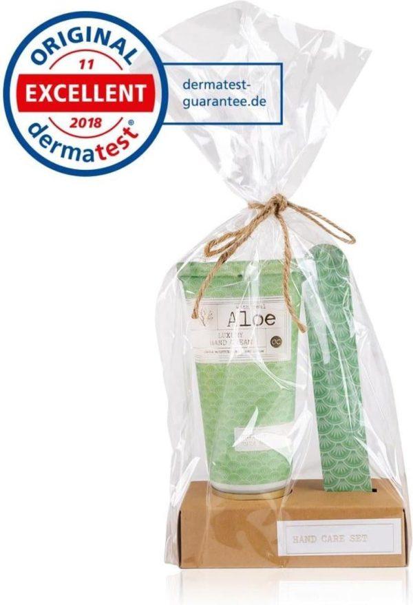 2-delig Handverzorging geschenkset Premium collection - Aloe Vera & Shea Butter- Cadeau pakket dames - moeder - vriendin - echtgenote