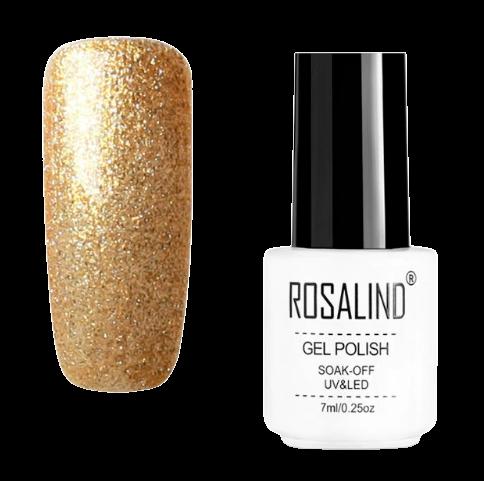 Rosalind kleurcode 012 Gouden naggellak