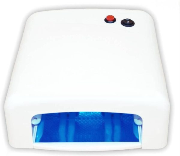 36W UV Lamp Wit Gel NagelDroger