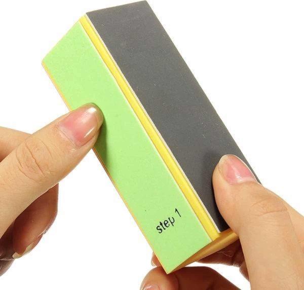 4-Side Buffing Block - Blokvijl met 4 kanten - 4-Zijdig Polijstblok - Nagelvijl voor uw nagels compleet!