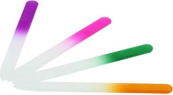 8 x Glazen nagelvijl | nagelvijl glas | nailart | nagelverzorging