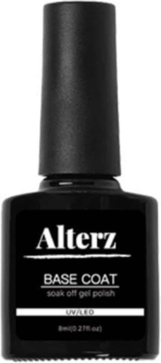 Alterz Base Coat - Gel Nagellak - Gellak - Base Coat - 8ml - UV gellak set - Nagellak set - Base coat gellak