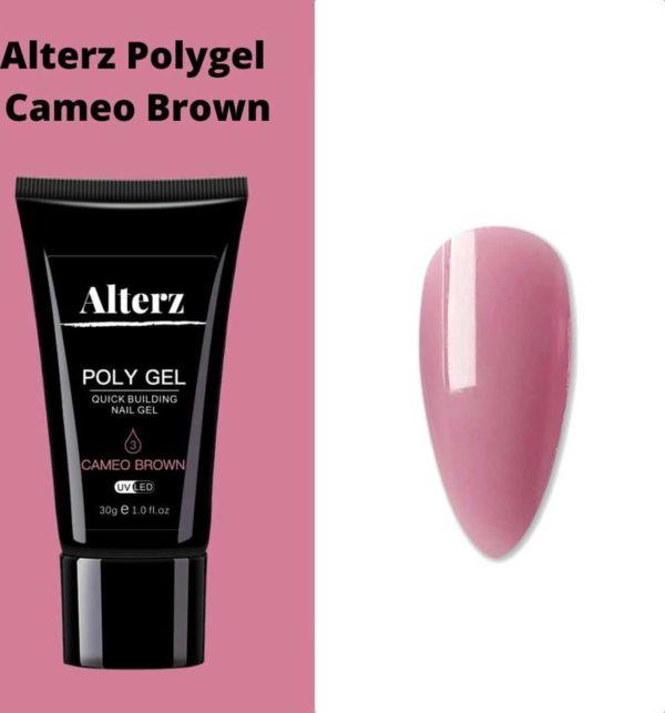 Alterz Polygel Cameo Brown - Polygel nagels - Polygel kleuren - Polygel producten - 30ml
