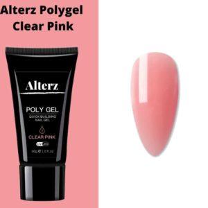 Alterz Polygel Clear Pink - Gellak - Polygel Nagels - Polygel kleuren - Roze - 30ml
