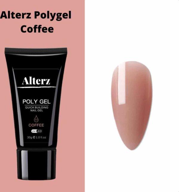 Alterz Polygel Coffee - Polygel nagels - Polygel kleuren - Nude - 30ml