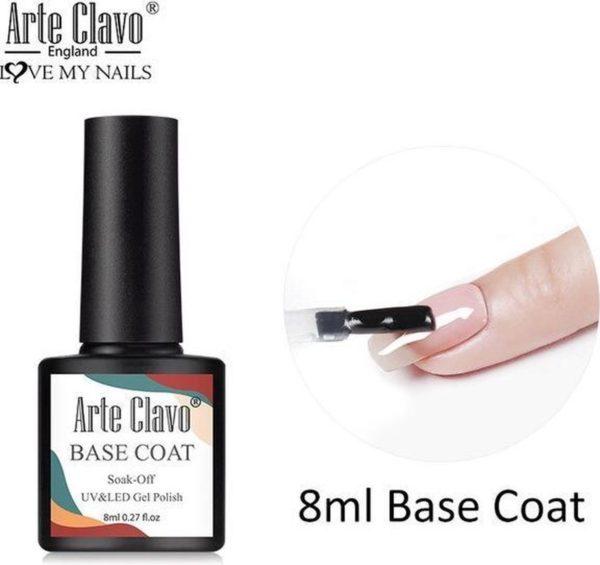 Arte Clavo Gellak Gel Nagellak Soak-Off 8ml Base Coat