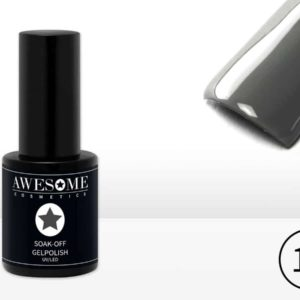 Awesome #12 Donker Grijs Gelpolish - Gellak - Gel nagellak - UV & LED