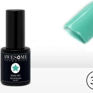 Awesome #35 Mint Groen Gelpolish - Gellak - Gel nagellak - UV & LED