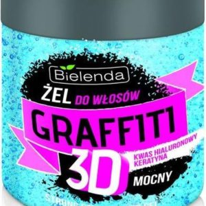 Bielenda - Graffiti 3D Strong Hair Gel With Hyaluronic Acid And Keratin 250G