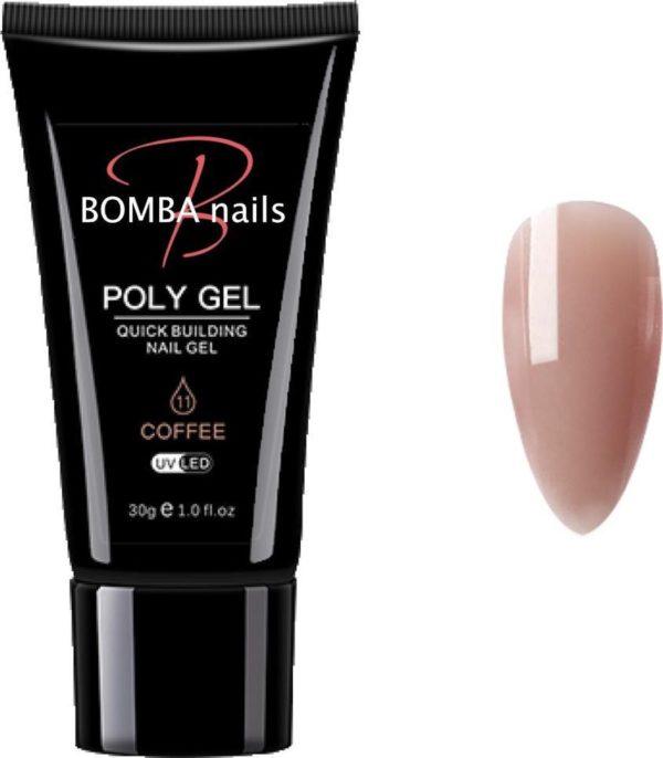 Bombanails® Polygel 30ml Coffee
