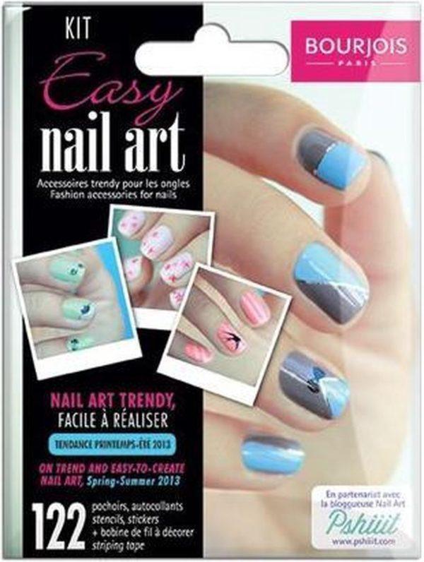 Bourjois Easy Nail Art - 122 stuks - nagelstickers