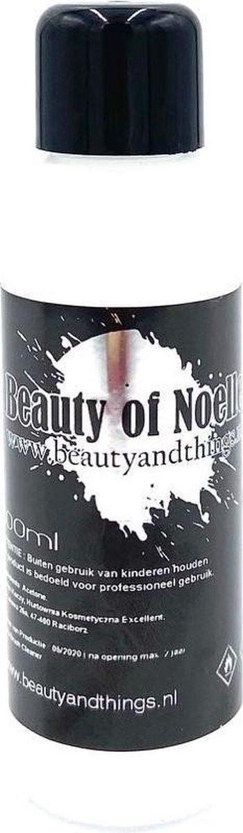 Brush Cleaner, borstel - kwasten reiniger 2 flesjes van 100 ML