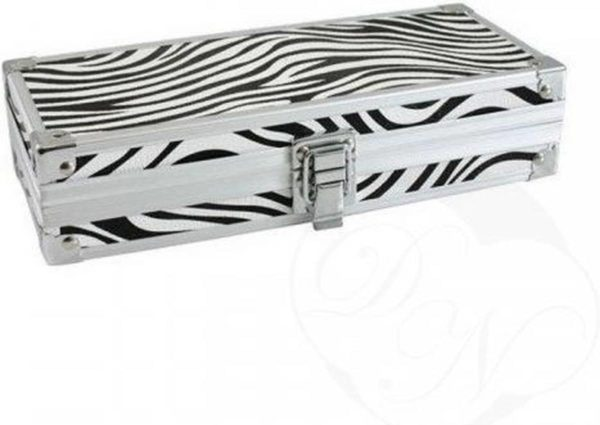 CHIMP Brush Box Zebra / Penselen Box Zebra
