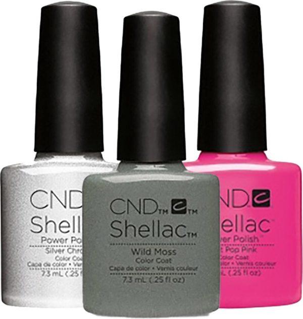 CND - Colour - Shellac - Gellak - Brick Knit - 7,3 ml