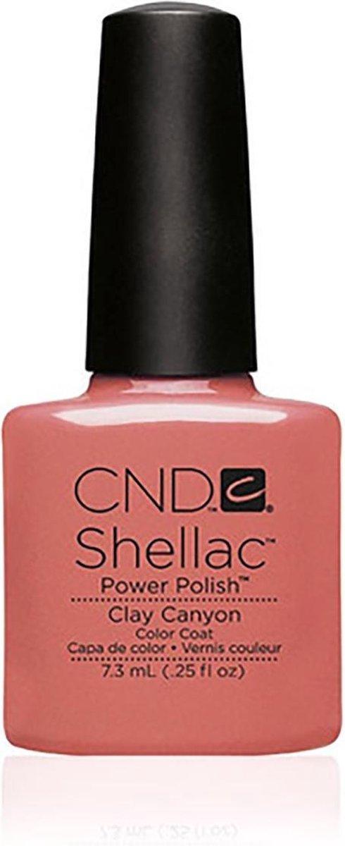CND - Colour - Shellac - Gellak - Clay Canyon - 7,3 ml