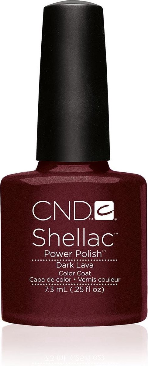 CND - Colour - Shellac - Gellak - Dark Lava - 7,3 ml