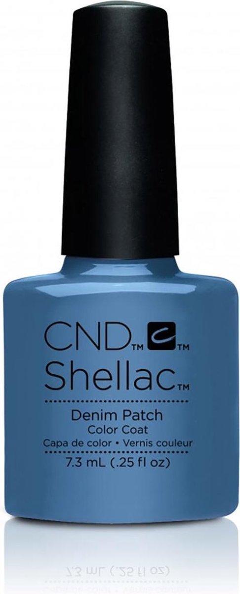 CND - Colour - Shellac - Gellak - Demin Patch - 7,3 ml