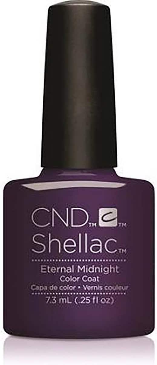 CND - Colour - Shellac - Gellak - Eternal Midnight - 7,3 ml