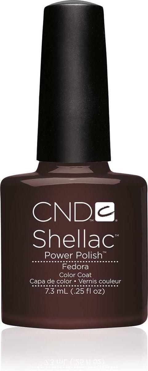 CND - Colour - Shellac - Gellak - Fedora - 7,3 ml