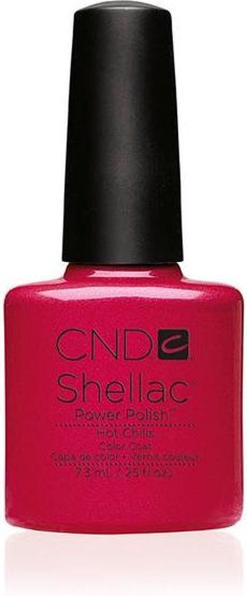 CND - Colour - Shellac - Gellak - Hot Chilis - 7,3 ml