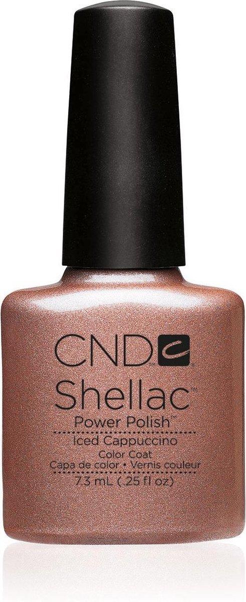 CND - Colour - Shellac - Gellak - Iced Cappuccino - 7,3 ml