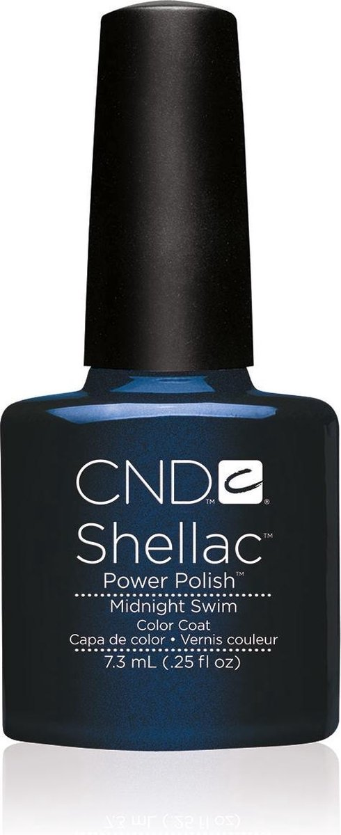 CND - Colour - Shellac - Gellak - Midnight Swim - 7,3 ml