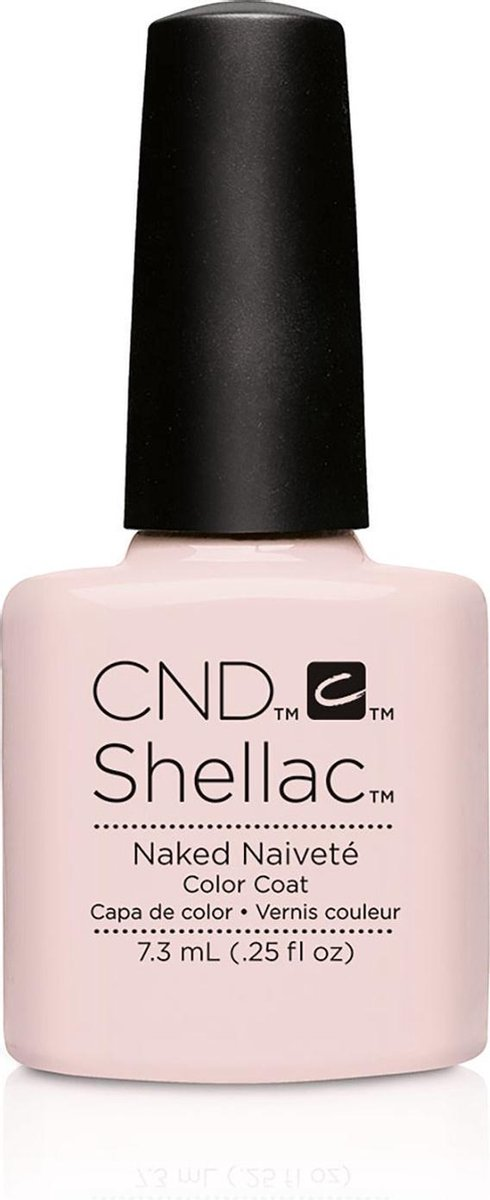 CND - Colour - Shellac - Gellak - Naked Naivete - 7,3 ml
