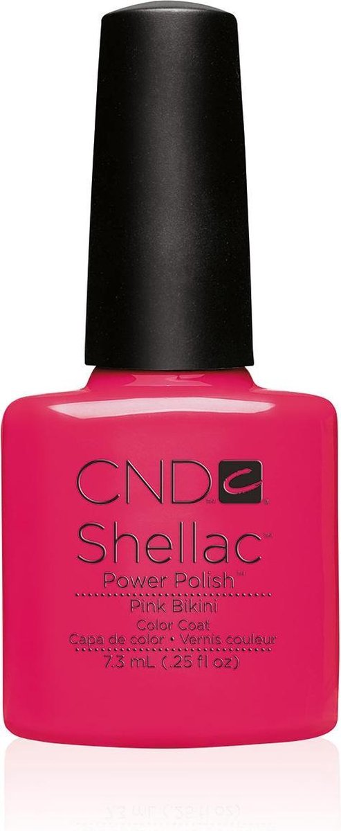 CND - Colour - Shellac - Gellak - Pink Bikini - 7,3 ml