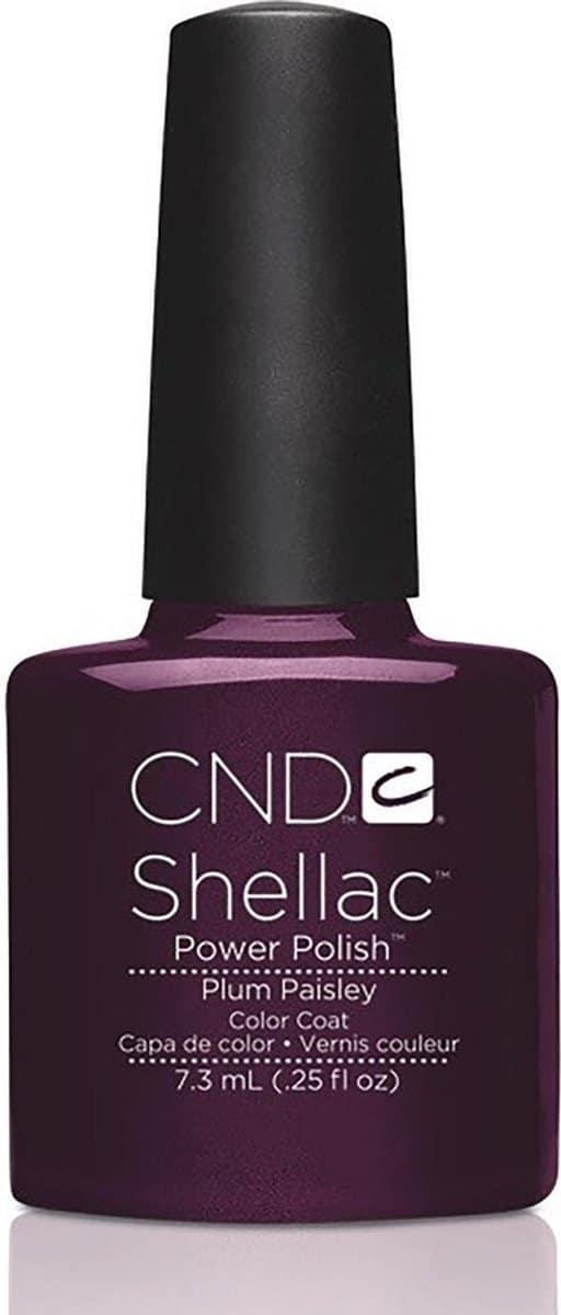 CND - Colour - Shellac - Gellak - Plum Paisley - 7,3 ml