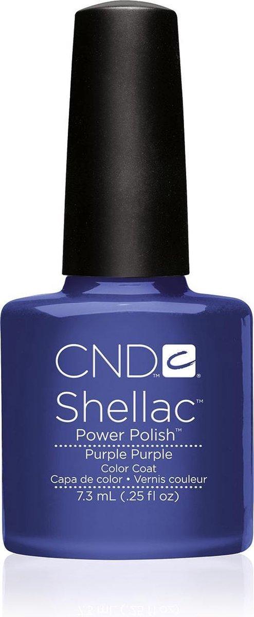 CND - Colour - Shellac - Gellak - Purple Purple - 7,3 ml