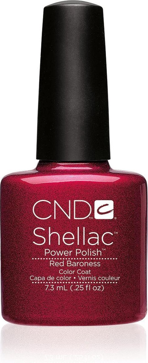 CND - Colour - Shellac - Gellak - Red Baroness - 7,3 ml