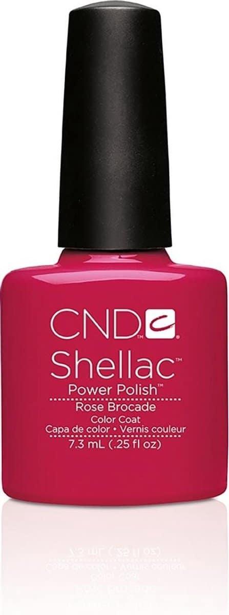 CND - Colour - Shellac - Gellak - Rose Brocade - 7,3 ml