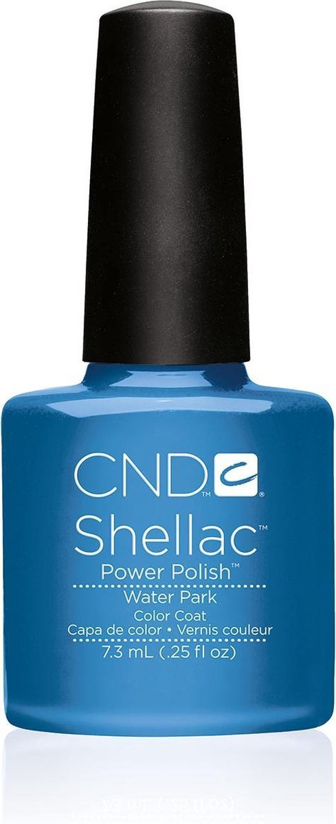 CND - Colour - Shellac - Gellak - Waterpark - 7,3 ml
