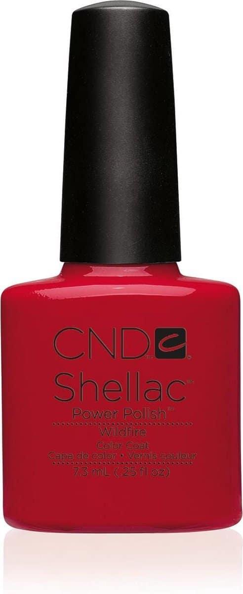 CND - Colour - Shellac - Gellak - Wildfire - 7,3 ml