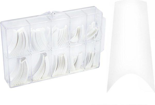 Callance Nagel Tips French 100 stuks - gelnagels - acrylnagels - gel - acryl - nagels - manicure - nagelverzorging