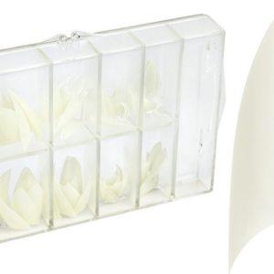 Callance Nagel Tips Stiletto Natural 100 stuks - gelnagels - acrylnagels - gel - acryl - nagels - manicure - nagelverzorging