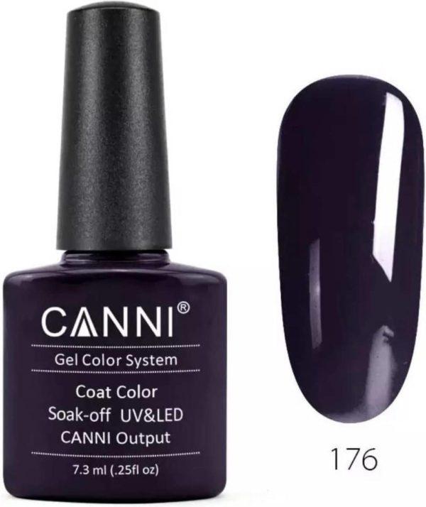 Canni - Gel nagellak - Gellak - Gelpolish - Gel Polish - UV & LED - Aubergine (176)