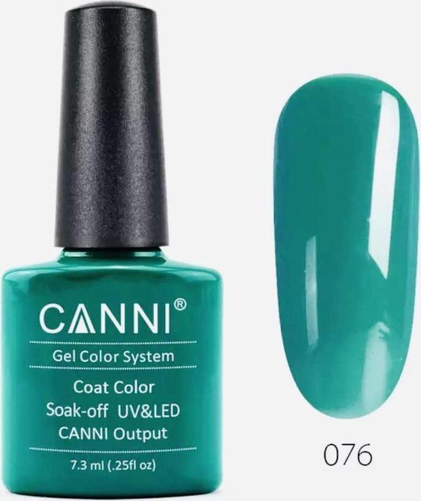 Canni - Gel nagellak - Gellak - Gelpolish - Gel Polish - UV & LED - Dark Emerald (076)