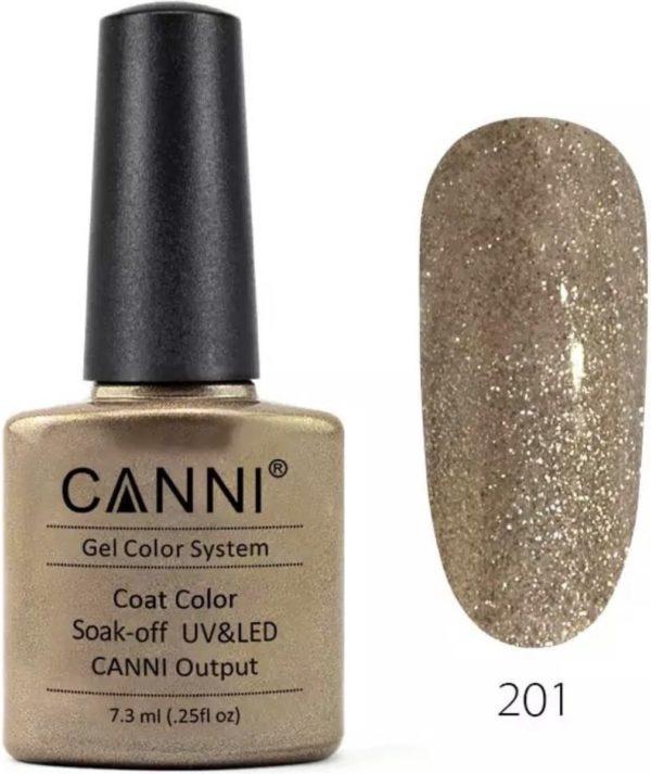 Canni - Gel nagellak - Gellak - Gelpolish - Gel Polish - UV & LED - Shiny Gold (201)