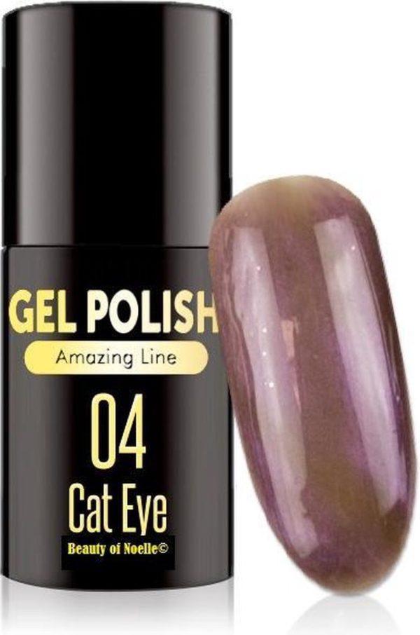 Cat-Eye Paars 04 - Magnetic Gelpolish incl. magneet stick - gellak, acryl nagels, gel nagels, pedicure, nepnagels