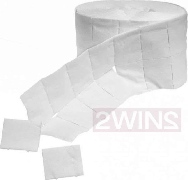 Celstof doekjes / celstof deppers wegwerp 500 stuks, pluisvrij! Ook voor het verwijderen van de gel lak / gellak / gelpolish / gelnagellak, nagellak, reinigen van de penselen, kwasten, vijlen, desinfecteren van de nagels.