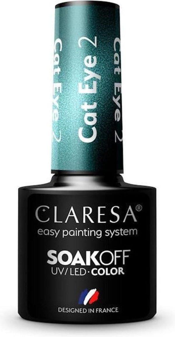 Claresa Gellak Cat Eye 2 -5ml.