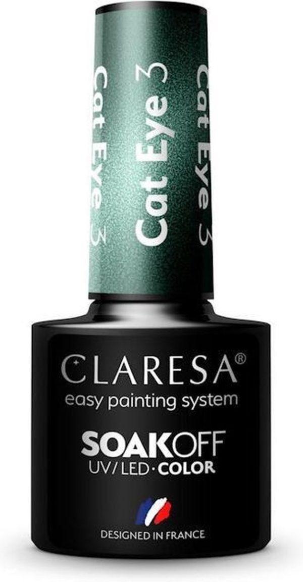 Claresa Gellak Cat Eye 3 -5ml.