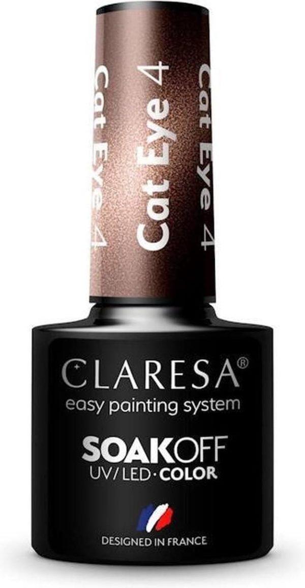 Claresa Gellak Cat Eye 4 - 5ml.